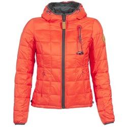 Textiel Dames Dons gevoerde jassen 80DB Original NICKI Grijs / Rood