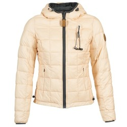 Textiel Dames Dons gevoerde jassen 80DB Original NICKI Beige / Roze