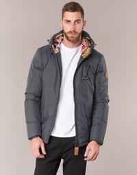 Textiel Heren Dons gevoerde jassen 80DB Original HENDRIX Grijs