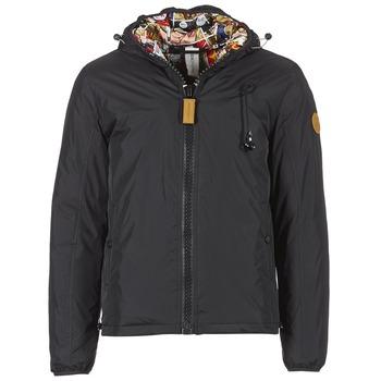 Textiel Heren Dons gevoerde jassen 80DB Original HENDRIX Zwart