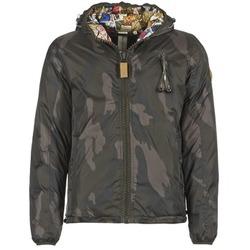 Textiel Heren Dons gevoerde jassen 80DB Original HENDRIX Kaki / Camouflage