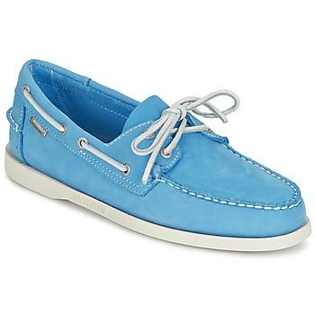 Schoenen Heren Mocassins Sebago DOCKSIDES Blauw