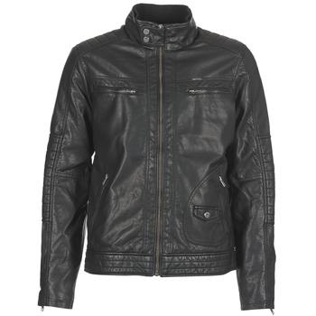 Textiel Heren Leren jas / kunstleren jas Petrol Industries VESTE JAC150 Zwart
