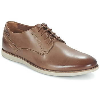 Schoenen Heren Derby Clarks FRANSON PLAIN Brown