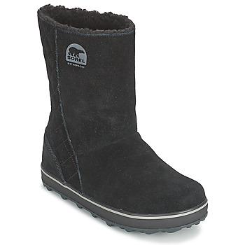 Schoenen Dames Snowboots Sorel GLACY Zwart