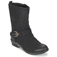 Schoenen Dames Laarzen Spot on GANIA Zwart