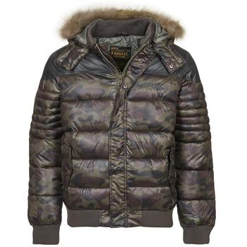 Textiel Heren Dons gevoerde jassen Kaporal CANA Kaki