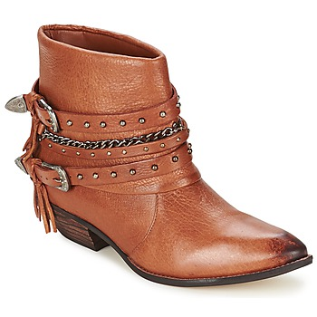 Schoenen Dames Laarzen Dumond ZIELLE Brown