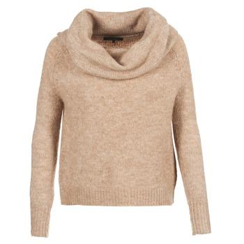 Textiel Dames Truien Only BERGEN Beige