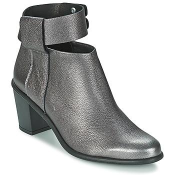 Schoenen Dames Low boots Miista ODELE Pewter / Lever