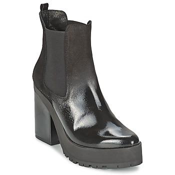 Schoenen Dames Enkellaarzen Miista YOLANDA  zwart