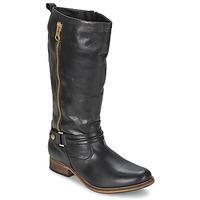 Schoenen Dames Hoge laarzen Nome Footwear SASSIF CASU Zwart