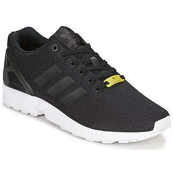 Schoenen Lage sneakers adidas Originals ZX FLUX Zwart / Wit