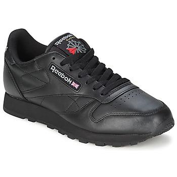 Schoenen Lage sneakers Reebok Classic CL LTHR Zwart