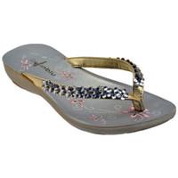 Schoenen Dames Slippers Inblu  Goud
