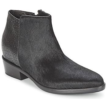 Schoenen Dames Laarzen Alberto Gozzi PONY NERO Zwart