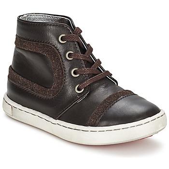 Schoenen Jongens Laarzen Tartine Et Chocolat JR URBAIN Chocolade
