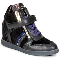 Schoenen Dames Hoge sneakers Serafini LEXINGTON Zwart