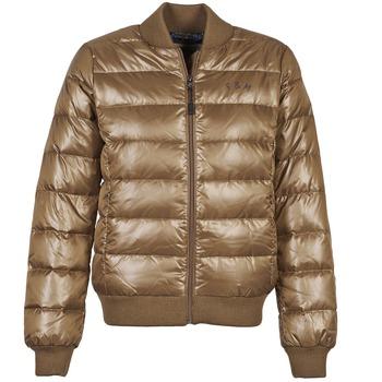 Textiel Dames Dons gevoerde jassen Franklin & Marshall JKWAL511 Brown