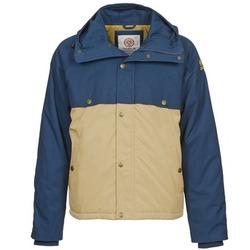 Textiel Heren Parka jassen Franklin & Marshall JKMVA034 Blauw / Beige