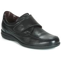 Schoenen Heren Derby Fluchos LUCA Zwart
