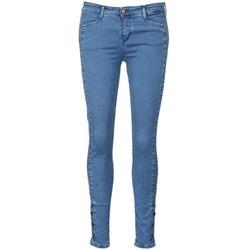 Textiel Dames Skinny jeans Acquaverde ALFIE Blauw / Clair