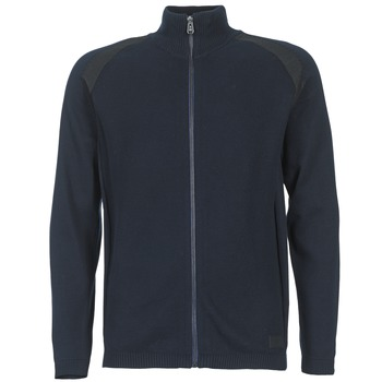 Textiel Heren Vesten / Cardigans Jack & Jones STREET CORE Marine