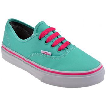Schoenen Kinderen Lage sneakers Vans  Groen