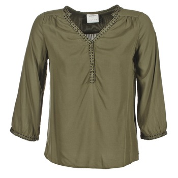 Textiel Dames Tops / Blousjes Vero Moda CHARLOTTE Kaki