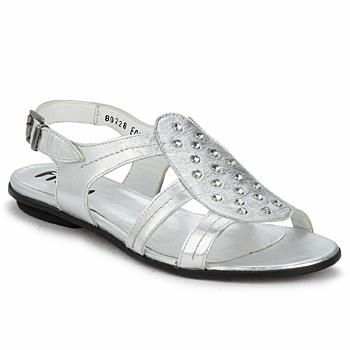 Schoenen Dames Sandalen / Open schoenen Fidji BARRETA Zilver