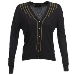 Textiel Dames Vesten / Cardigans Chipie BERENICE Zwart