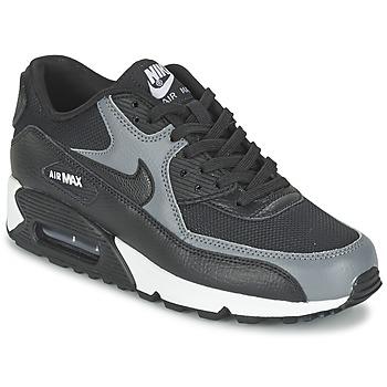 Schoenen Dames Lage sneakers Nike AIR MAX 90 W Zwart / Grijs