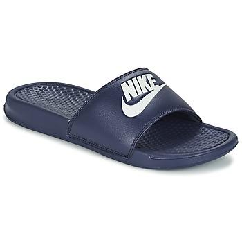 Schoenen Heren Slippers Nike BENASSI JDI Blauw / Wit