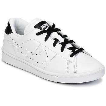 Schoenen Jongens Lage sneakers Nike TENNIS CLASSIC PREMIUM PRESCHOOL Wit / Zwart