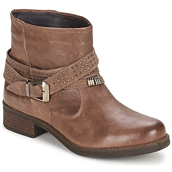 Schoenen Dames Laarzen Keys CLOSE Brown