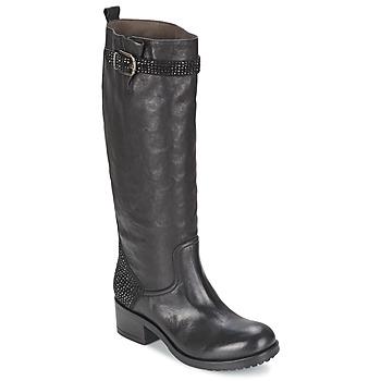 Schoenen Dames Hoge laarzen Now PRINCE Zwart