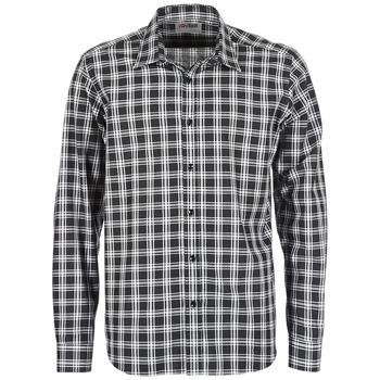 Textiel Heren Overhemden lange mouwen Yurban FLENOTE Zwart / Wit