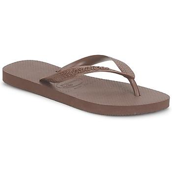 Schoenen Slippers Havaianas TOP Brown