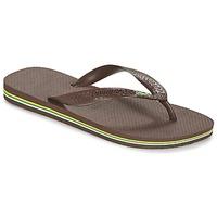Schoenen Slippers Havaianas BRASIL Brown