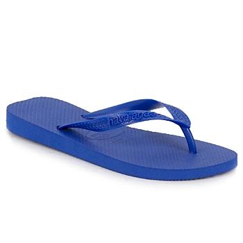Schoenen Slippers Havaianas TOP Marine / Blauw