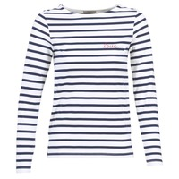 Textiel Dames Tops / Blousjes Betty London FLIGEME Wit / Blauw