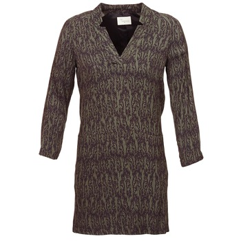 Textiel Dames Korte jurken Stella Forest BRO024 Kaki