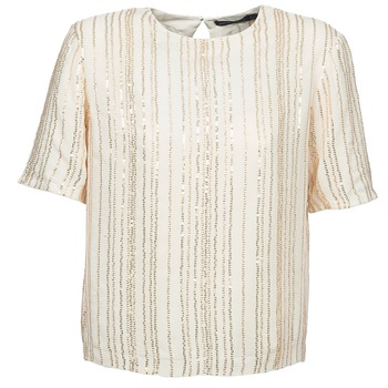 Textiel Dames Tops / Blousjes Antik Batik ROMINA Creme