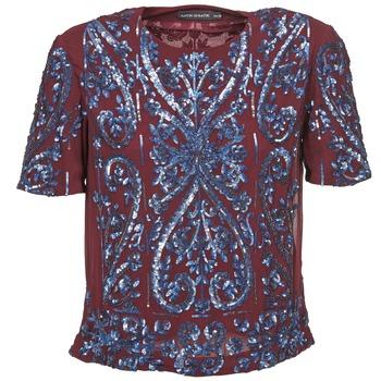 Textiel Dames Tops / Blousjes Antik Batik NIAOULI Bordeaux