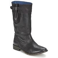 Schoenen Dames Hoge laarzen Schmoove SANDINISTA BOOTS Zwart / Métal