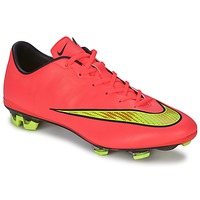 Schoenen Heren Voetbal Nike MERCURIAL VELOCE II FG Super / Punch / Mtlc / Gld / Zwart