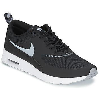 Schoenen Dames Lage sneakers Nike AIR MAX THEA Zwart / Wolf /  grey-anthracite-blanc