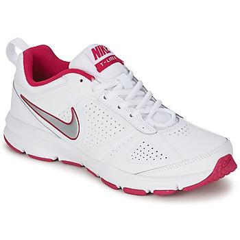 Schoenen Dames Allround Nike T-LITE XI Wit / Roze