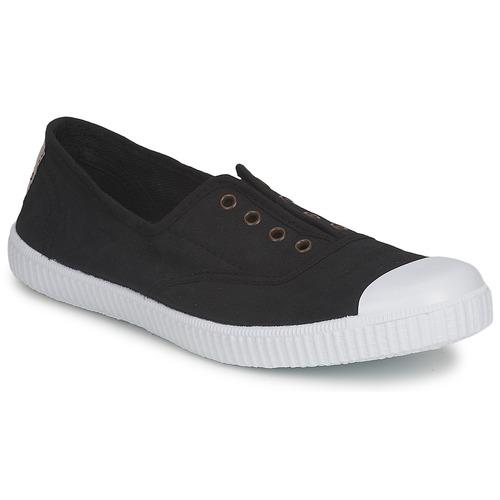 Schoenen Dames Lage sneakers Victoria 6623 Zwart