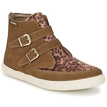 Schoenen Dames Hoge sneakers Victoria 16706 Brown